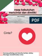 Anzdoc.com Konsep Kebutuhan Mencintai Dan Dimiliki Niken Anda