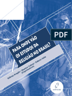 Aragão, Cabral, Valle. Para Onde Vão Os Estudos Da Religião No Brasil