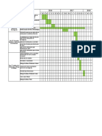 Cronograma Actividades Excel
