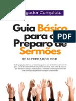 eBook Oficial Em PDF Guia Pregador