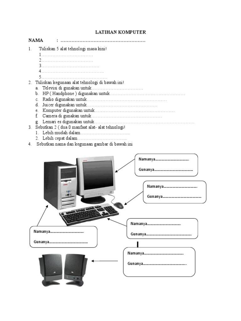 Latihan Komputer