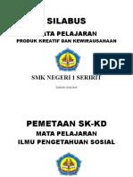 Cover Silabus ,Pemetaan,Analisi Smk Seririt Pkk