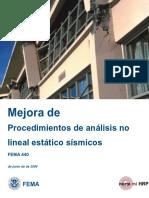 Fema No Lineal Español