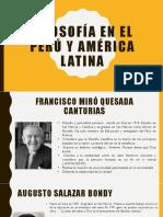 Filosofía en El Perú y América Latina Modificado