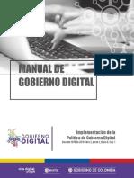 Manual Del Gobierno Digital