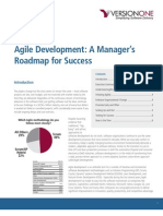 Agile Managers Roadmap