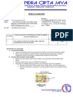 Surat Garansi