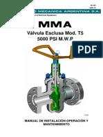 M-166 Valvula MOD T5