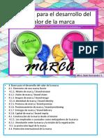 4.- Bases Para El Desarrollo Del Valor de La Marca
