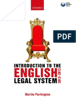 Martin Partington - Introduction to the English Legal System 2012-2013-Oxford University Press (2012)