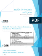 Herencias, Clases Abstractas, Interfaces