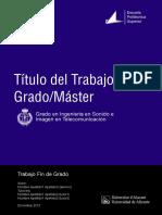 Plantilla Latex Tfg y Tfm Para La Eps de La Universidad de Alicante