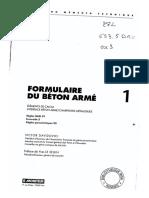 258703144 Formulaire Du Beton Arme Victor Davidovici PDF