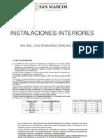 Clase 2 Instalaciones Interiores