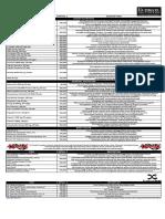 Ultimate Nutrition Price List 1Nov