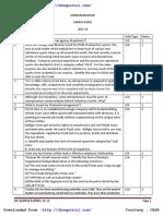 Cbse Class 12 Sample Paper 2015 16 Entrepreneurship