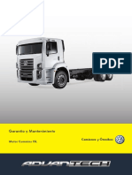 Manual de Garantia e Manutenção Motor ISL