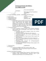 4 Spesifikasi Program Studi Geofisika
