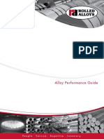 Heat and Corrosion Resistant Alloys [Alloy Performance Guide]
