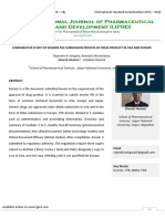 Comparative Study of Dossier File Submission Process of Drug Product in Usa and Europe