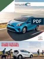 2018 Prius C Brochure 44710