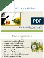 Ayurvedic Formulations