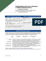 2.2.6 Escala de Conportamiento Social en La Preescuela y Jardin de Infancia (ECSPJ-)