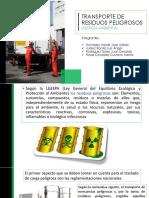 11 TRANSPORTE DE RESIDUOS PELIGROSOS.pptx