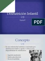 Desnutrición Infantil