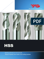 General Hss End Mills Yg1