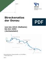 Atlas Dunare Kelheim Jochenstein Km 2414 2202 in Germana