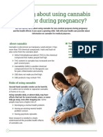Health Canada Marijuana and Pregnancy Warning