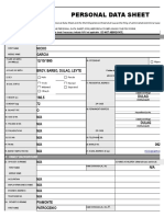 Form No. 212 Revised Personal Data Sheet_new