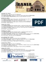Program Kina Urania 24.1.-30.1.2019