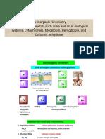 Basic Inorganic Chemistry Part 3 Bioinorganic Chemistry