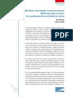 ¡El futuro del trabajo comienza ahora! Opciones para encarar la transformación en América Latina