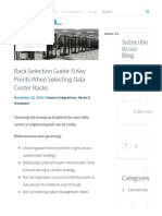 Rack Selection Guide_ 9 Key Points When Selecting Data Center Racks - Mirapath
