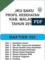 Profile. Kesehatan Kab. Malang 2017