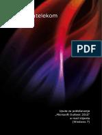 Upute Za Podesavanje Microsoft Outlook 2010 E-mail Klijenta (Windows 7)