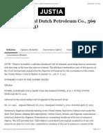 4. Kiobel v Royal Dutch