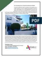 Réalisez Vos Rêves d'Architecture à l'Ecole Architecture Rabat-converted
