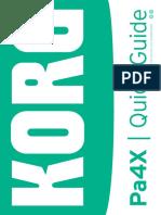 Pa4X Quick Guide v100 English