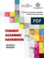 Student Academic Handbook Elelctrical Engineering Department