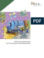 Inrs Postes de Relevement Sur Les Reseaux d Assainissement Conception Et Amenagement Des Situations de Travail 2010