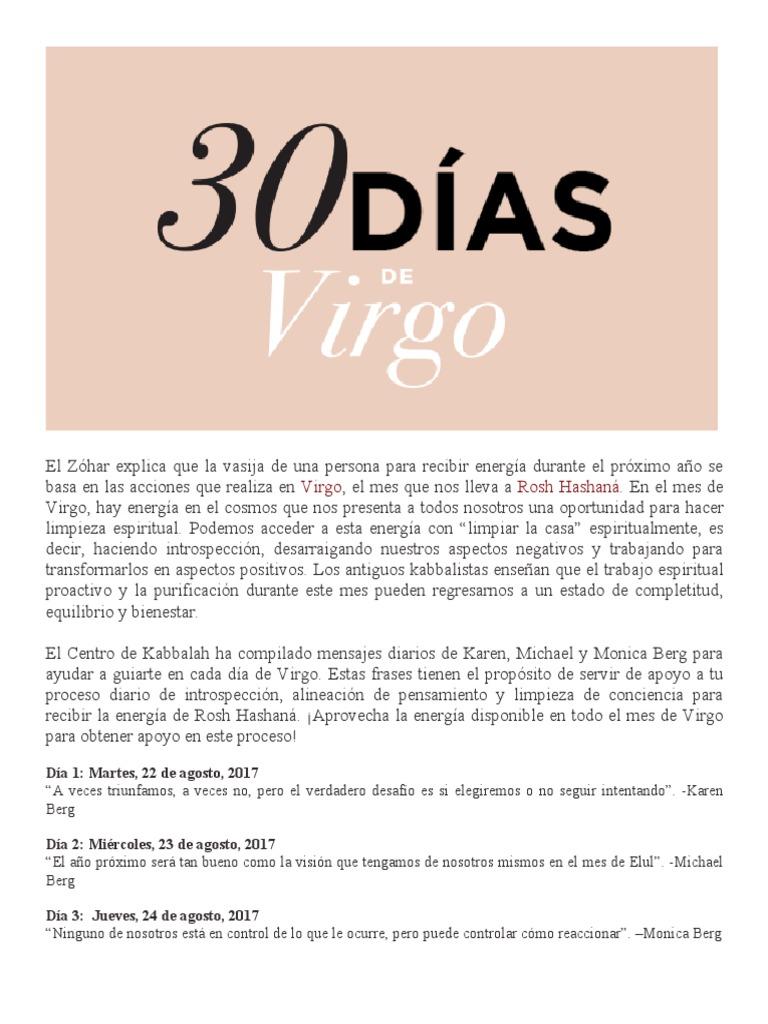 30 Dias Virgo