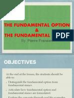 Fundamental Option & Stance