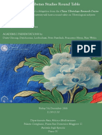 Locandina Indo-Tibetological Studies