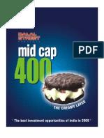 Top Mid Cap 400 Comapnies in India