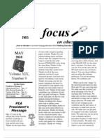 MAY 2010 Focus
