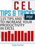 Excel Tips and Tricks